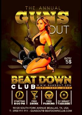 Annual Guns Out Party In Club