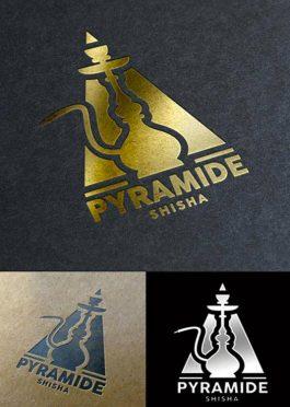 Arabic Shisha Bar Logo Template