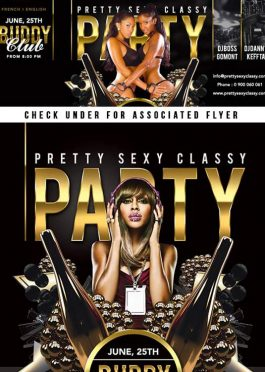Facebook Cover Pretty Sexy Classy Club Party