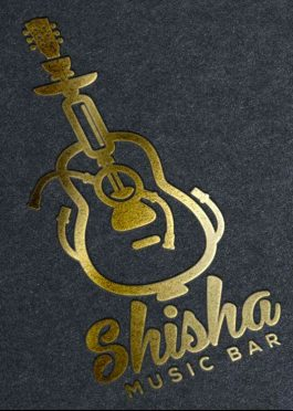 Logo Template Smoking Shisha Music Bar