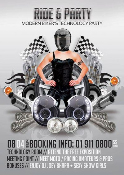 Bikers Racers Club Flyer Template download