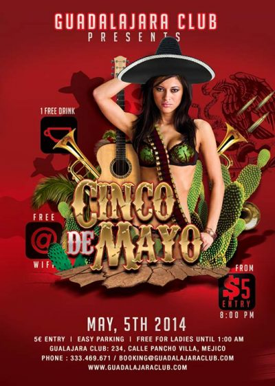 Cinco De Mayo Mexico Flyer Template download