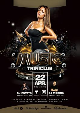 Music Dj Mixing Club Flyer Template download
