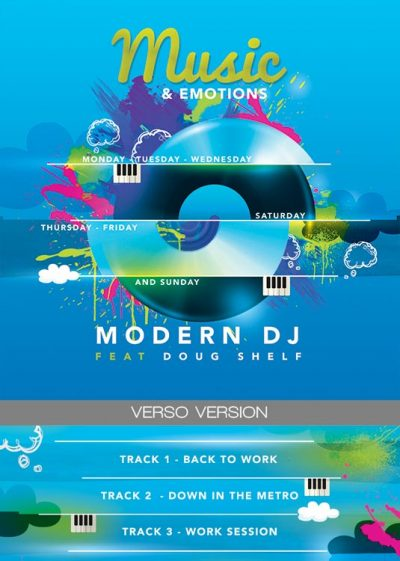 Music Emotions CD Artwork Template download