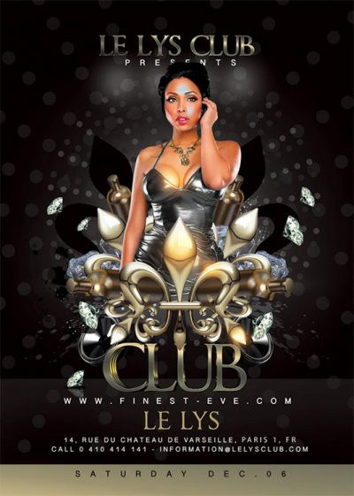 Royal Classy Party In Club Flyer Template download