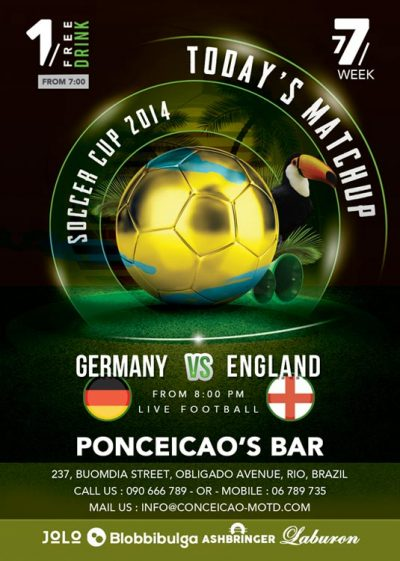 Soccer Cup Match Flyer Template download