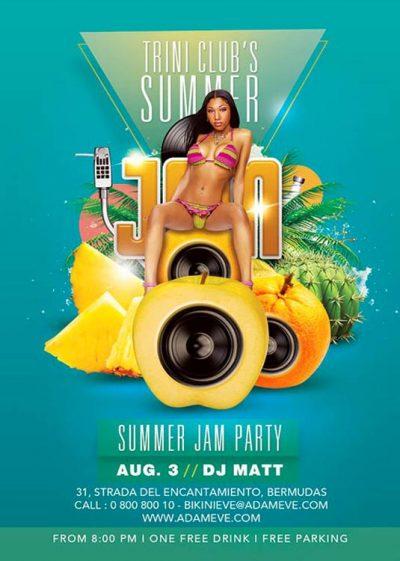 Summer Jam Music Session Flyer Template download