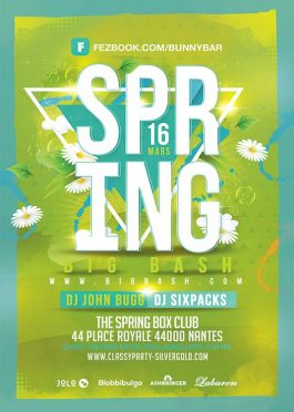 Spring Season Bash Flyer Template