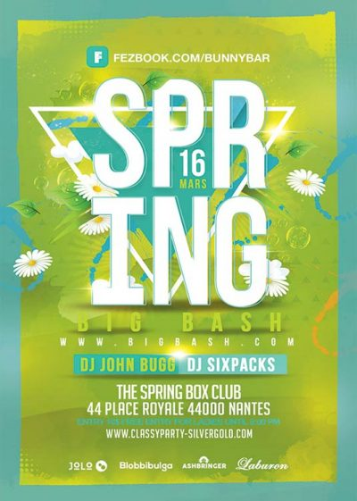 Spring Season Bash Flyer Template download