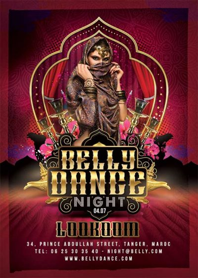 Oriental Belly Dance Night Flyer download
