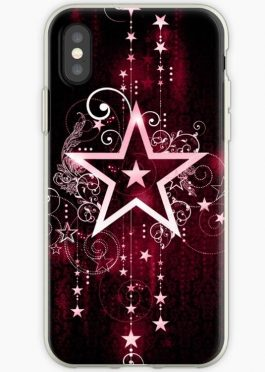 Phone case made of stars