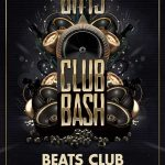 Black And Golden Night Club Bash Flyer Template download