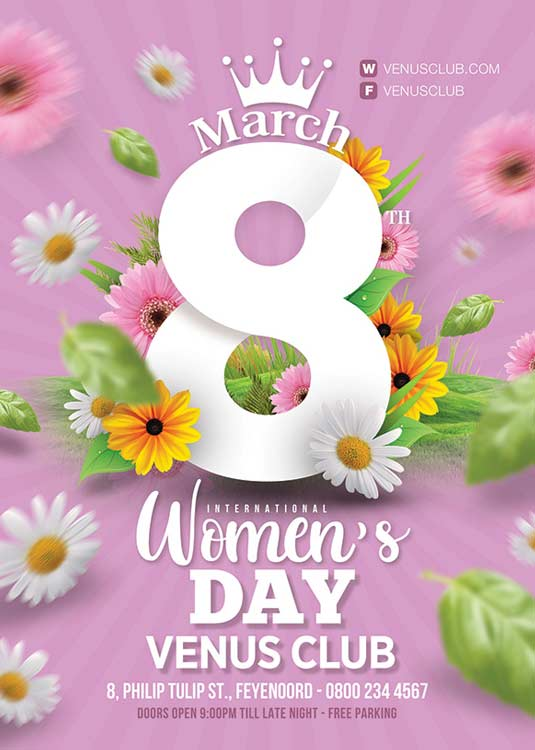 International Womens Day Flyer Template